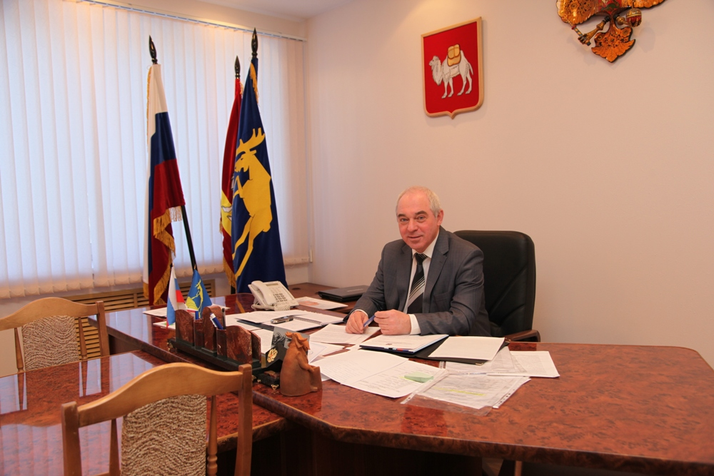 Сегодня традиционное аппаратное совещание в администрации округа проводил глава Миасса Игорь Войн