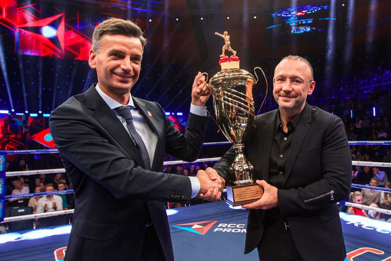 Председатель Совета директоров Русской медной компании Игорь Алтушкин награжден Кубком Эдмунда Ли