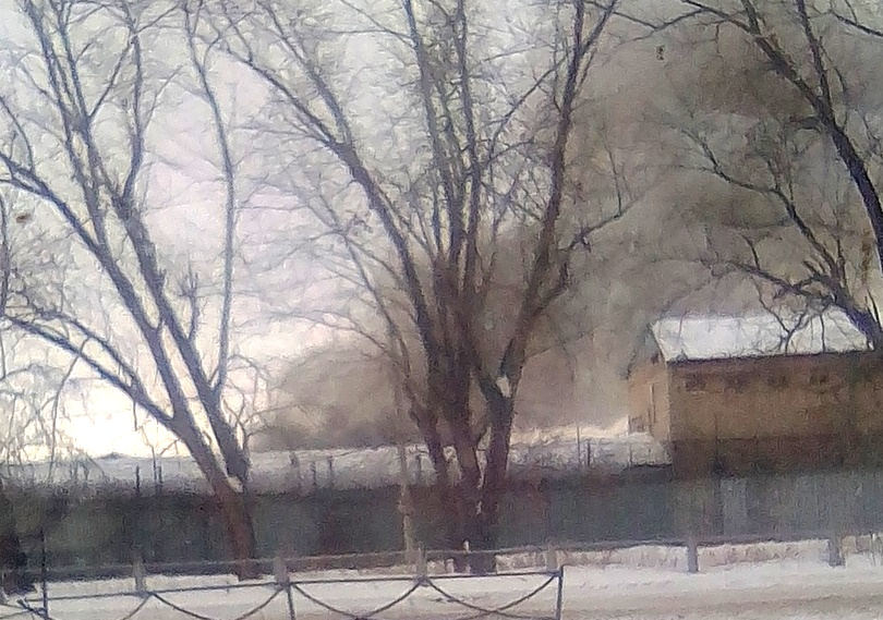 Жителей Копейска сегодня, 19 февраля, напугало задымление в районе шестой исправительной колонии.