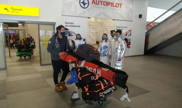 В Челябинскую область прибыла команда из Франции, которая примет участие в этапе Кубка мира по фр