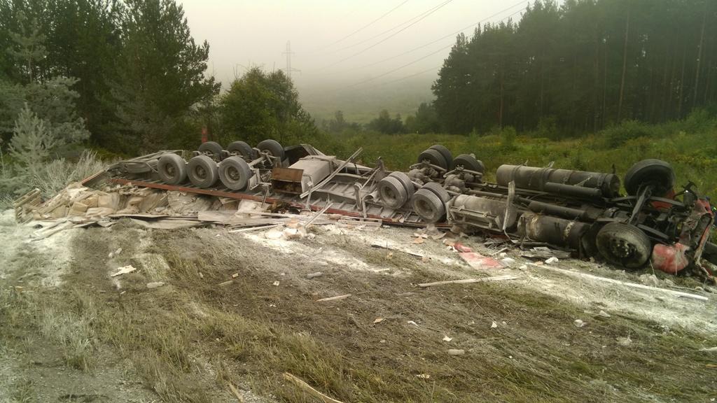 В Катав-Ивановском районе (Челябинская область) вчера, 30 августа, в утреннее время столкнулись д