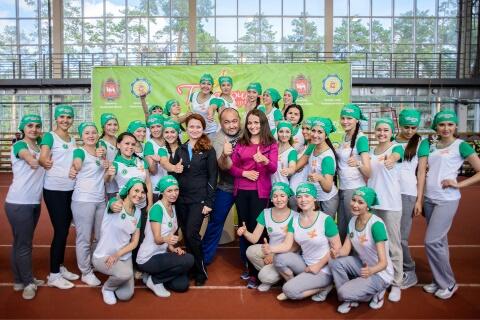 Спортивный этап межрегионального конкурса красоты и таланта «Татарочка-2014» состоялся на челяби