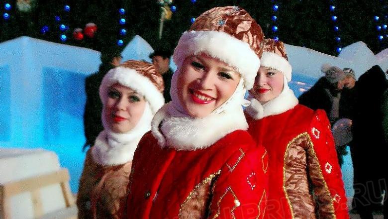Два дня на базе Центра эстетического воспитания детей проходил веселый новогодний