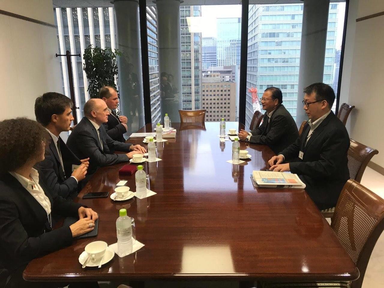 Презентация инвестиционного потенциала Челябинской области в Японии (южноуральскую делегацию возг