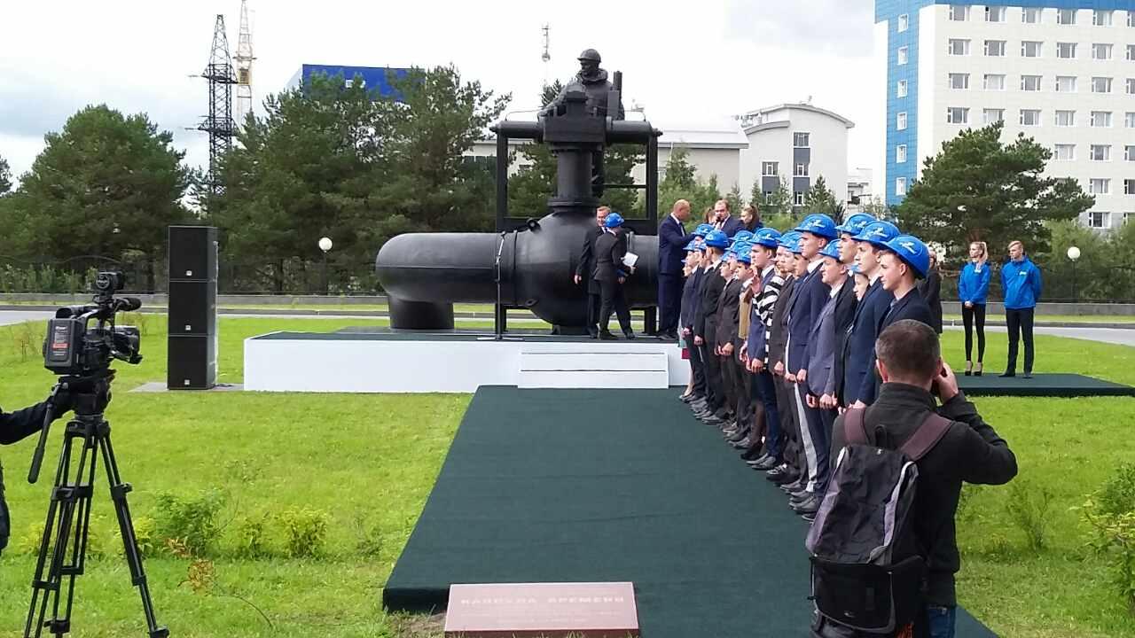 Как сообщили агентству «Урал-пресс-информ» в пресс-службе «Мечел», монумент создавался по заказу
