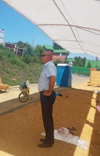 Пляж на Первом озере в Челябинске проинспектировали представители министерства общественной безоп