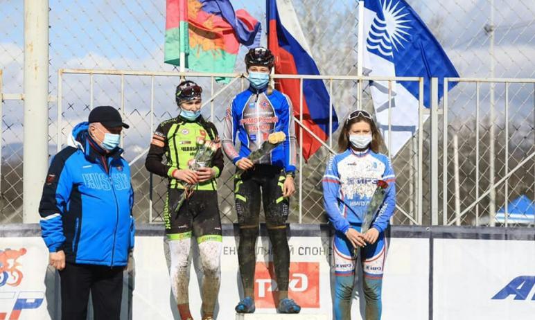 Спортсмены Челябинской области успешно выступили на двух стартах российского масштаба по велокрос