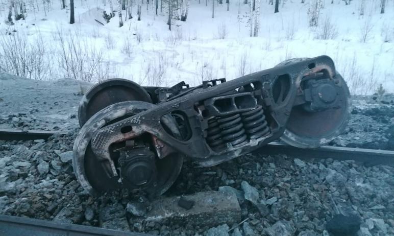 В Челябинской области возбуждено уголовное дело по факту схода вагонов грузового поезда с углем н