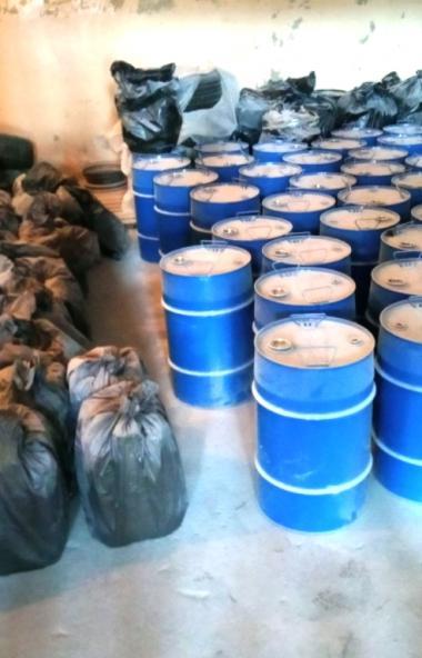 Сотрудниками южноуральской полиции в Копейске пресечена деятельность подпольной лаборатории, ежем