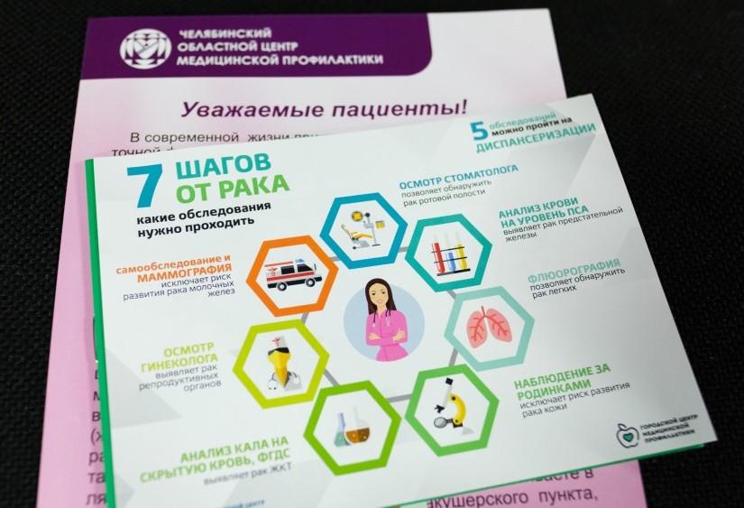В пятницу, 8 февраля, жители Челябинска смогут узнать все про онкологические заболевания и задать