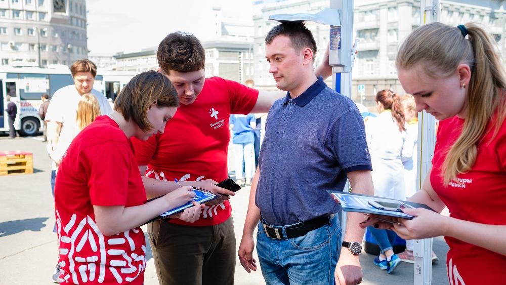 «Территория здоровья», работающая на площади Революции в Челябинске по выходным, выявила целый ря