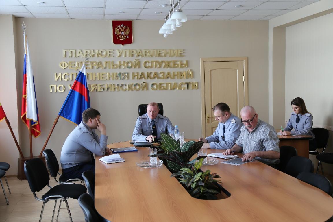 Руководство и сотрудники ГУФСИН России по Челябинской области приняли участие в «Прямом разговоре