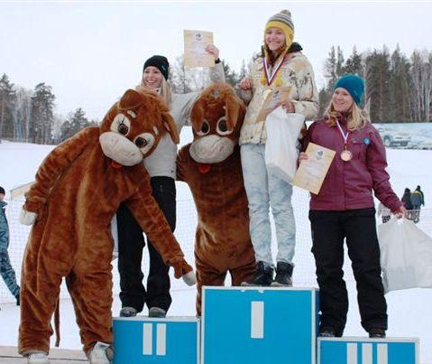 Организовали фестивальсноубординга «Интерсвязь – динамика жизни»горнолыжный курорт «Солнечная дол