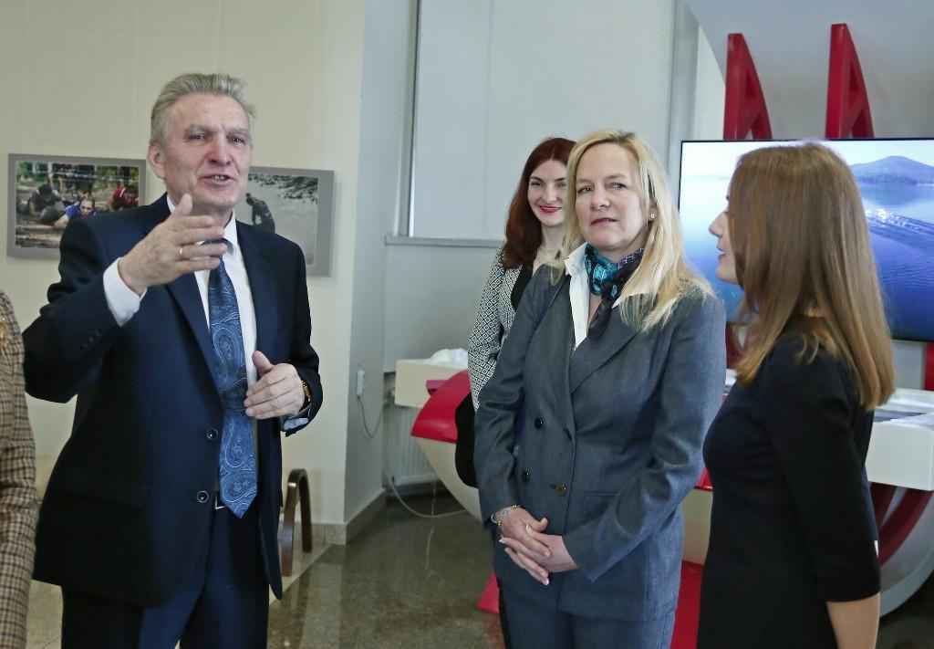 Сегодня, 1 апреля, Государственный исторический музей Южного Урала посетила делегация из Италии,