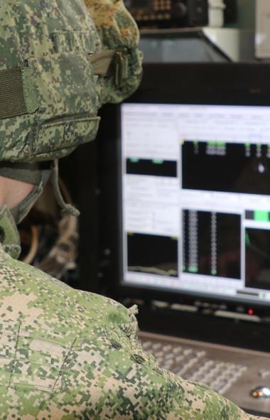 Специалисты радиоэлектронной борьбы (РЭБ) провели ряд специальных учений по противодействию разли