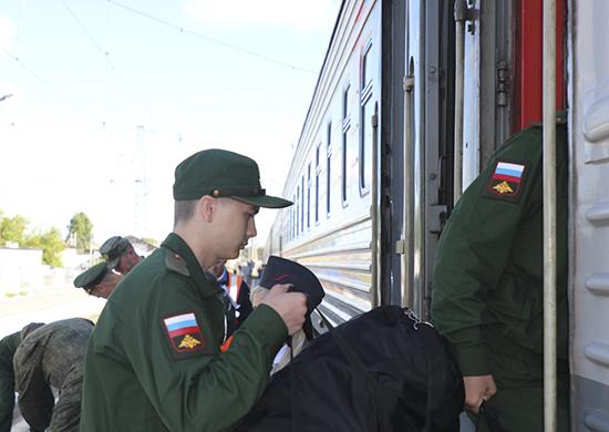 Шесть призывников из Челябинской области, имеющие высшее образование и прошедшие отбор, пополнят