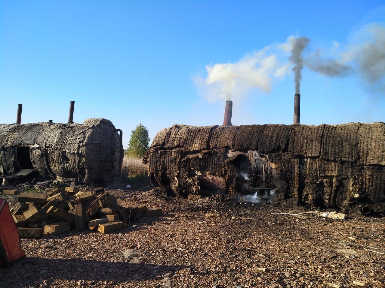 Рядом с полигоном твердых комунальных отходов в Полетаево (Челябинская область), куда теперь своз