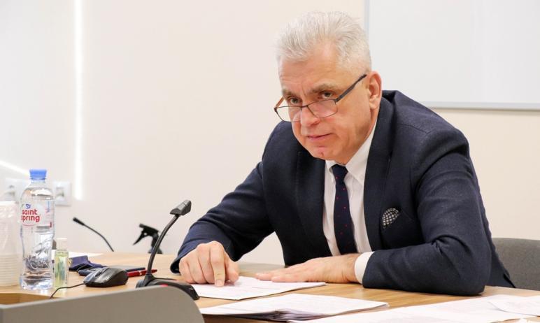 На заседании городского Собрания депутатов Магнитогорска (Челябинская область) был заслушан докла