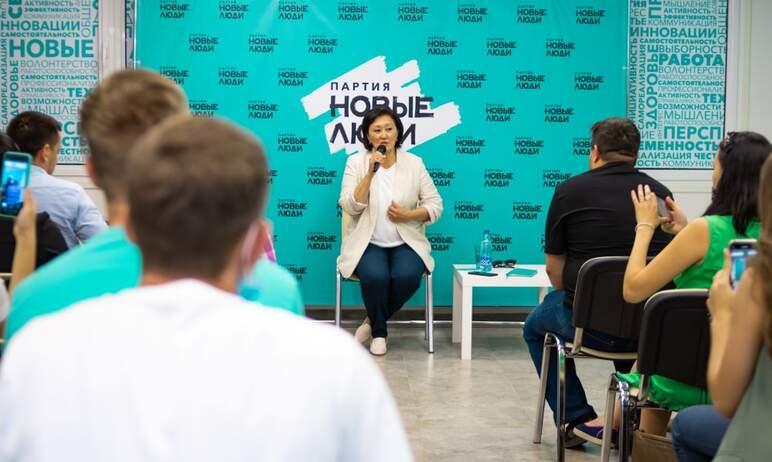 Челябинск посетила экс-мэр Якутска и советник лидера партии «Новые люди» Сардана Авксенть