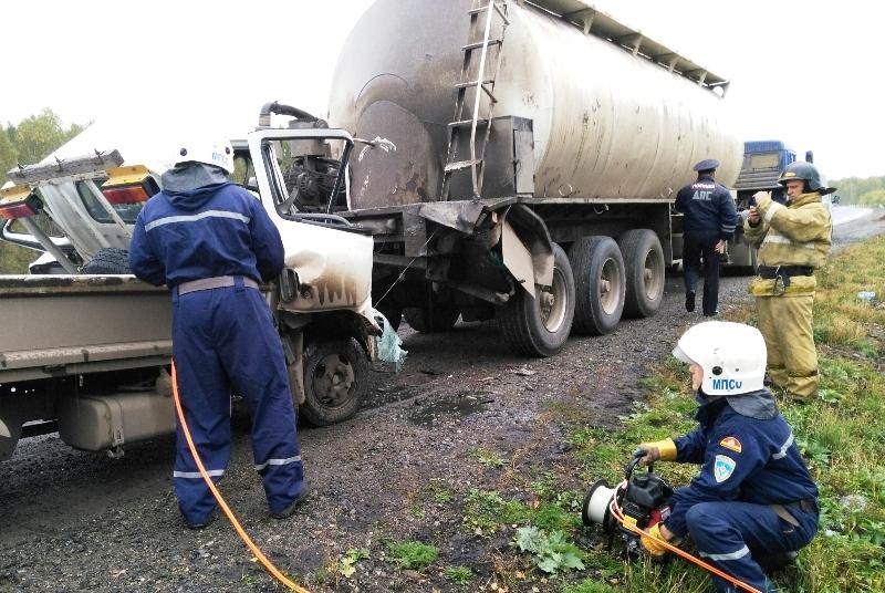 Авария произошла 22 сентября в районе деревни Большое Таскино. «Малотоннажный