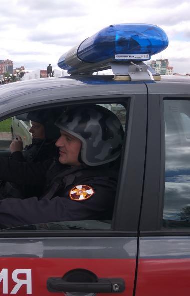 В Челябинске отправлены на карантин еще пять бойцов Росгвардии. Они получили положительные резуль