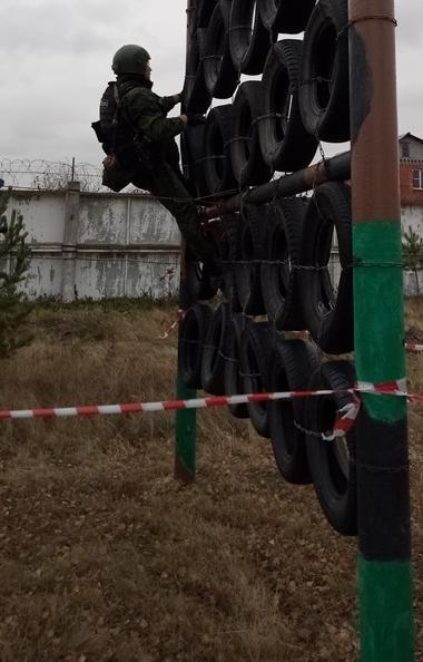 В отделе специального назначения «Урал» ГУФСИН России по Челябинской области состоялся День откры