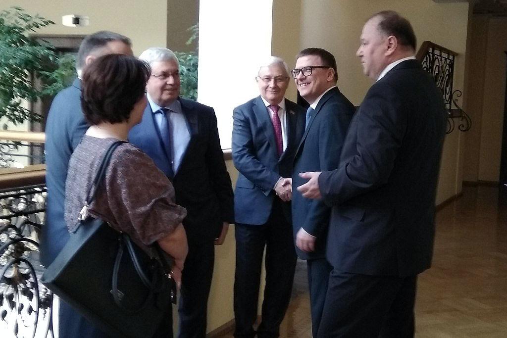 Алексей Текслер провел первую официальную рабочую встречу в качестве временно ис
