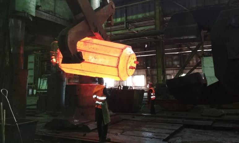 Завод «Уральская кузница» (ПАО «Уралкуз», входит в Группу «Мечел», Челябинская область) в 2020 го