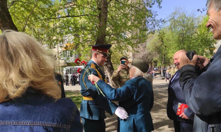 В Челябинске для ветеранов Великой Отечественной войны и тружеников тыла уже второй год подряд пр
