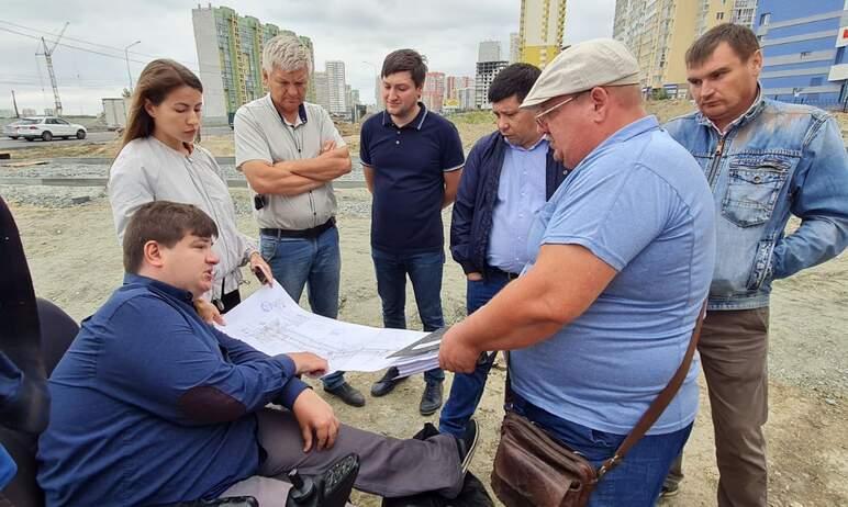 В Челябинске сегодня, 6 августа, очередное совещание по строительству дороги на улице Наркома Мал