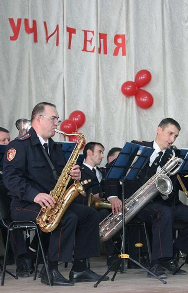 В Челябинске оркестр регионального управления Росгвардии под руководством лейтенанта Ивана Кузнец
