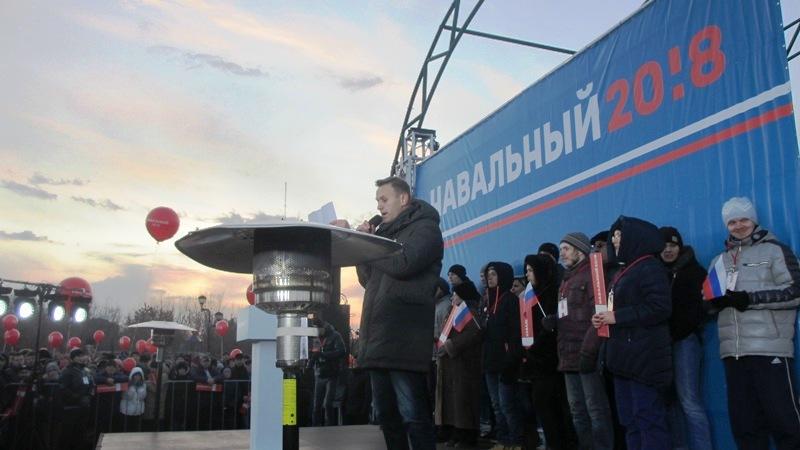 Сегодня, 26 ноября, в Челябинске состоялся митинг с участием скандального российского оппозиционе