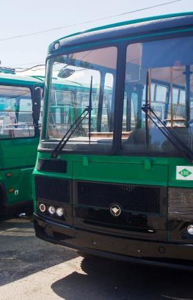 Пять новых автобусов на газомоторном топливе поступили в распоряжение МУП «Копейское пассажирское