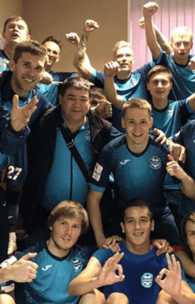В восьмом туре первенства страны по футболу в группе «Урал-Приволжье» футбольный клуб «Челябинск»