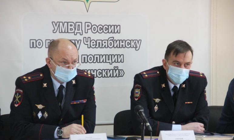 В полиции Калининского отдела Челябинска новый руководитель. Им стал уроженец Хакасии Василий Гор