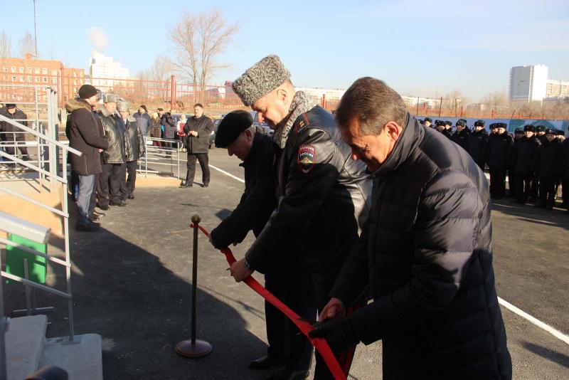 В Челябинске открылся новый, дополнительный участковый пункт полиции и введен в эксплуатацию аппа