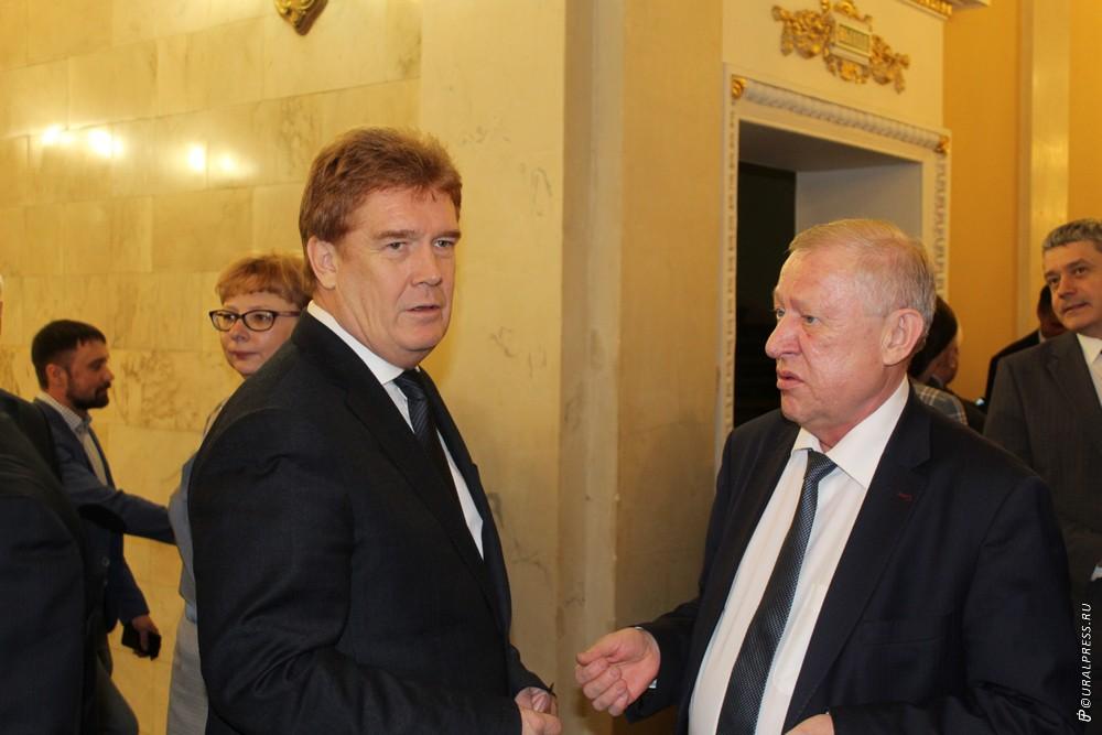 Вице-спикер Законодательного собрания Челябинской области Константин Захаров вкл