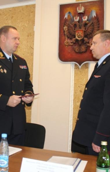 Начальник ГУ МВД России по Челябинской области Андрей Сергеев представил личному составу полиции