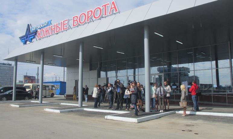 В Челябинске оптимизируют разворотную площадку автовокзала «Южные ворота», расположенного в здани