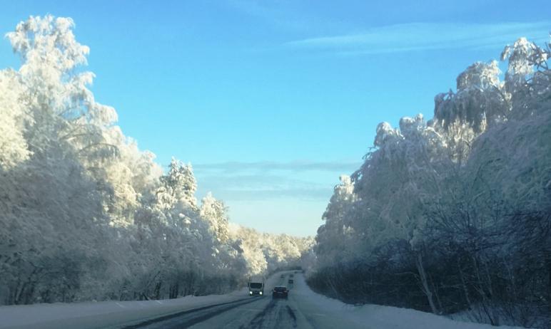 В ближайшую ночь, 12 января, в Челябинскую область придут Васильевские морозы, которые задержатьс