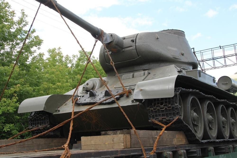 Символ Победы в Великой Отечественной войне – легендарный танк Т-34, который пытались контрабандо