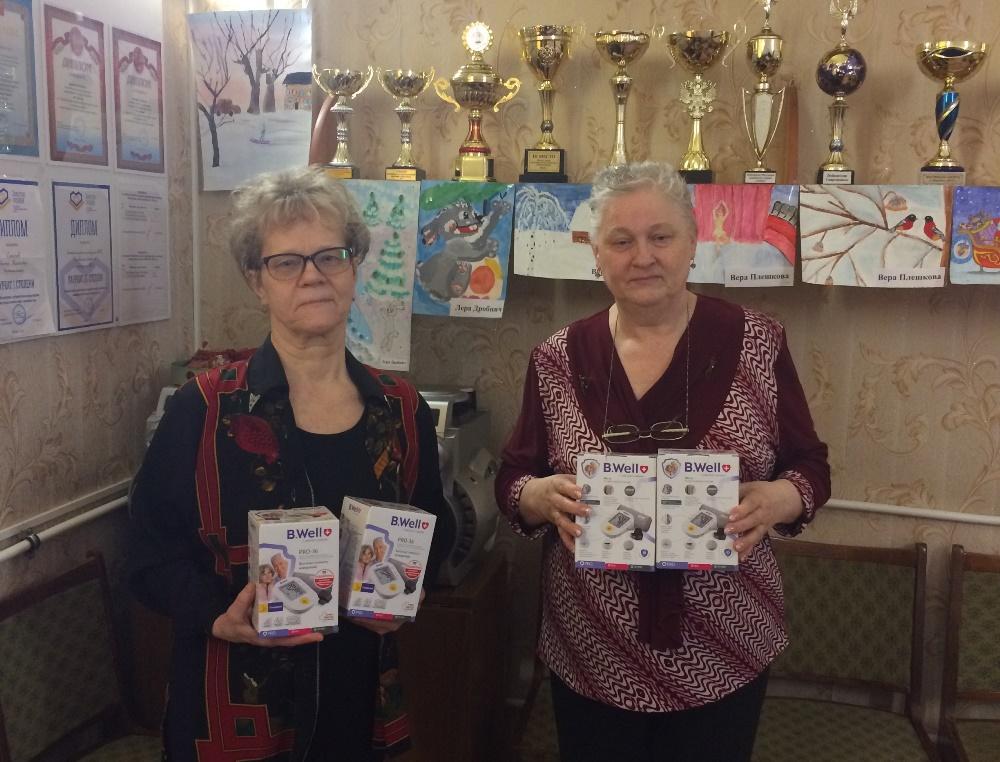 В Челябинской области компания «Равис» живо откликнулась на просьбу копейского общества слепых о