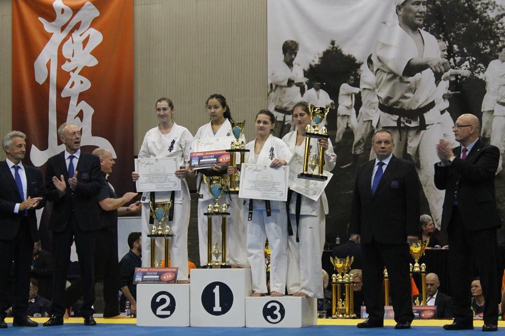 Челябинцы привезли две медали с чемпионата Европы по каратэ киокушинкай. В составе сборной России