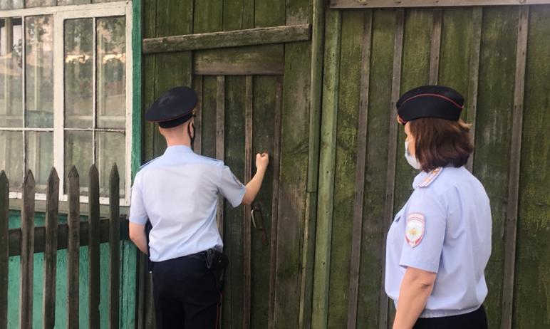 В Челябинской области продолжается профилактическая акция «Ваш участковый». Полицейские посещают