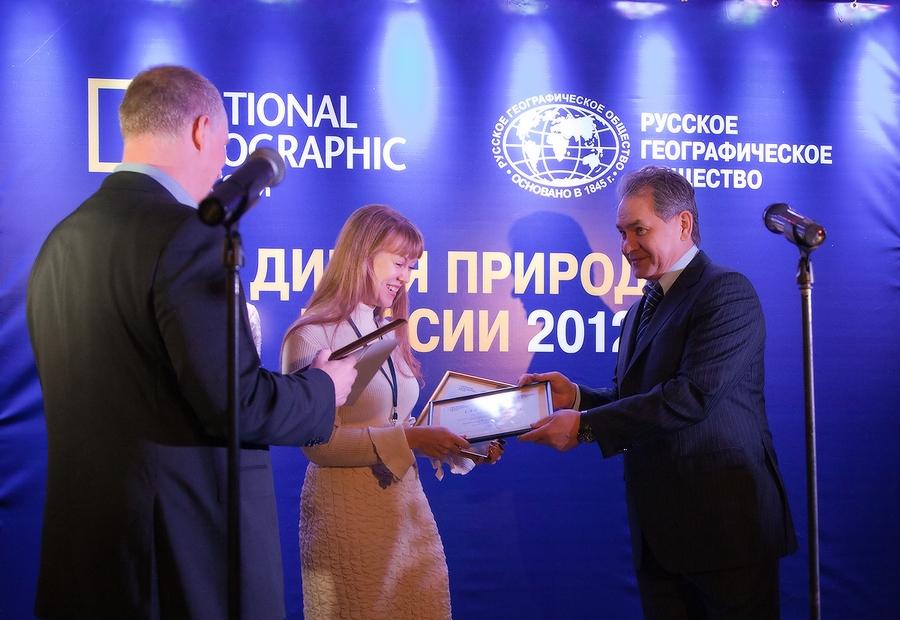 Главный приз – 300 тысяч рублей – Наталье вручил министр обороны Российской Федерации Сергей Шойг