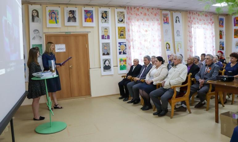 Вчера, 22 июня, в день Памяти и скорби в Еткульском краеведческом музее им. В.И. Сосенкова (село