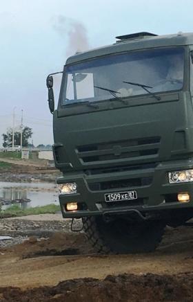 Военнослужащие механизированного батальона железнодорожного соединения Центрального военного окру
