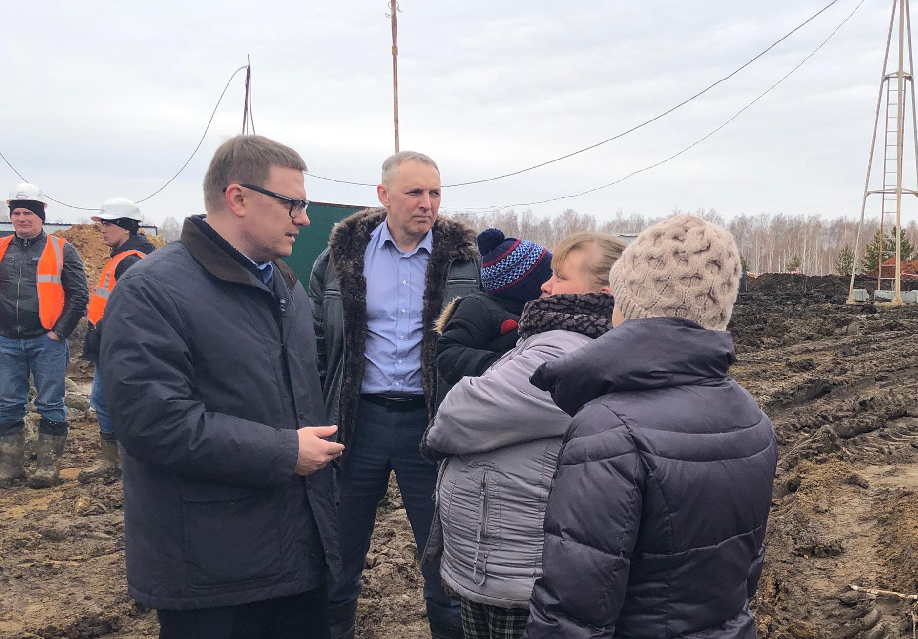 Врио губернатора Челябинской области Алексей Текслер не удовлетворен ходом строительства