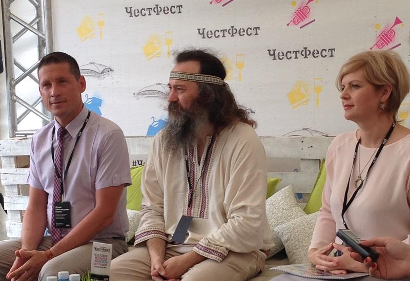 Представители СМИ осмотрели площадку, на которой состоится фестиваль, поучаствовал
