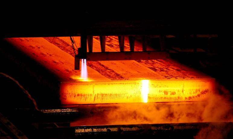 На Магнитогорском металлургическом комбинате (Челябинская о